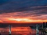 海南海口超美落日
