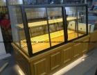 新款面包展柜面包收银台商业展柜