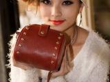 新款热卖迷你韩版复古铆钉女包相机包女单肩包斜跨小包可手拿手拎