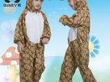 儿童演出服装幼儿园舞蹈服动物演出服卡通蟒蛇衣服秋冬春十二生肖