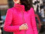 海曼尼品牌羽绒服女款厂家批发短款韩版三拉