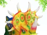 塔木德专业生产仿真大型恐龙模型恐龙电动车儿童广场电动骑行车