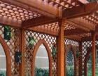 防腐木葡萄架,地板,围栏,栈道,扶手,亭子,长廊等