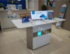 vivo华为oppo手机柜台玻璃展示柜移动联通业务受理台木质