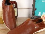 批发 欧洲站外贸原单新款男鞋 进口真牛皮低帮休闲鞋 平底四季鞋
