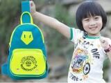 夏日爆款彩色胸包韩版卡通斜挎包儿童旅行胸包爸爸去哪同款