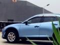 无锡新嘉豪汽车服务专业车身改色之电光青雾蓝