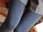 冬款羊绒七彩棉加厚无缝一体裤加绒保暖裤九分裤打底裤外穿厚