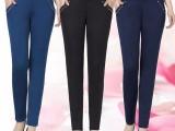 15元春夏新款纯色打底裤 加绒中老年女装 小脚弹力妈妈长裤