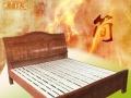 全新实木床出售