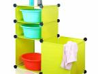 浴室置物架 卫生间脸盆架带脏衣桶 面盆架 DIY魔片 批发