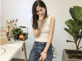 4元新款女装针织吊带背心 外穿韩版修身性感内搭打底上衣批发