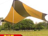 厂家定制 户外三角超大防晒遮阳天幕帐篷