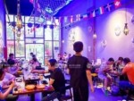 海鲜烤鱼大排档加盟 烧烤音乐主题餐厅加盟 烤涮一体加盟店