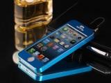 超薄0.3MM铝合金 苹果5手机壳 iphone5上下扣 全包金