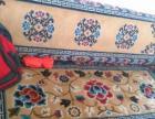 精美雕花藏式沙发床