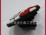 厂家专业定制礼品PVC绕线器 广告耳机集线器 捆线器