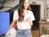 6元新款女装韩版修身圆领短袖女士t恤白色夏季女t桖衣服货源