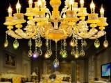 济南市灯具城客厅吊灯批发 水晶灯饰 家用吊灯价格