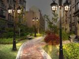 LED庭院灯/公园庭院灯厂家/小区庭院灯安装/别墅庭院灯