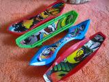 迎六一儿童特价 0781 塑料手指滑板 卡通图案手指滑板 玩具赠