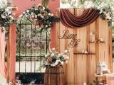 厦门户外婚礼 院子婚礼 草坪婚礼 策划布置5999元