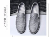 青岛男鞋夏季帆布鞋