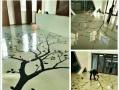 【地坪漆集团】复古艺术地坪漆工程 环氧树脂地坪漆施工
