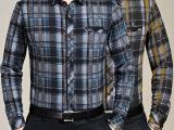 品牌男装花花公子新款男士休闲长袖衬衫商务衬衣男装批发零售