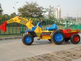 大型可骑可坐 儿童工程车 推土机挖机玩具挖掘机脚踏车 美尔奇