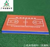 【品质保障】广西硅PU球场材料,体育场地施工材料供应