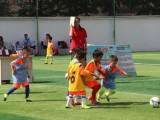 大连九码体育少儿足球招募足球小将试训中