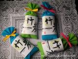 厂家批发供应日式纯色竹炭包100克.13