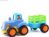 汇乐玩具326A/B惯性车 农夫 推土工程车 益智玩具批发 最佳