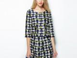 2014秋季新品 欧洲站女士休闲套装套裙 高端绣花外套短裙两件套