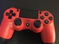 PS4原装红色手柄