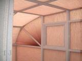 弧形蜂巢帘天窗,三角蜂巢帘,免费测量,设
