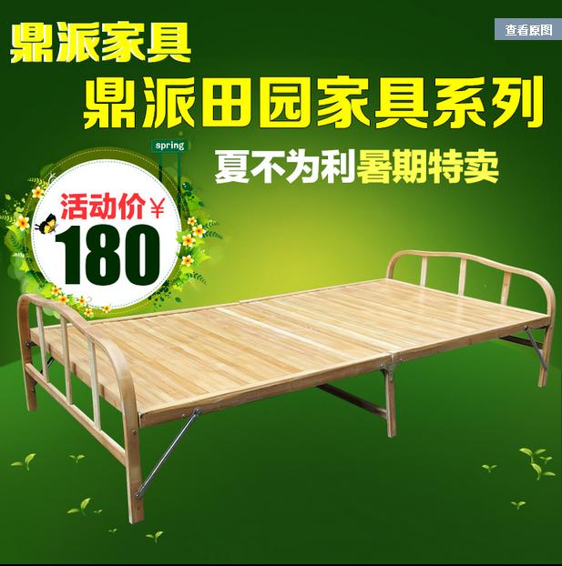 重庆折叠床铁床质量好 各种学生铁床 双层床供应铁床价格便宜