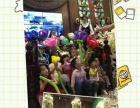 乐山百日宴儿童生日气球造型 小丑魔术泡泡秀表演氦气球批发