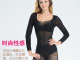 厂家直销日单超薄塑身衣 性感燃脂瘦身打底衣 收腰显瘦内衣9分袖