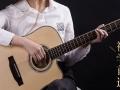 乐爵初学者学生吉他40寸41寸云杉木吉他男初学入门民谣吉他女