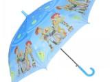 批发外贸直柄可爱卡通儿童雨伞 自动长柄遮阳伞 睛雨伞