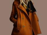 欧洲站秋冬新款大码女装外贸原单毛呢外套欧美宽松中长款呢子大衣