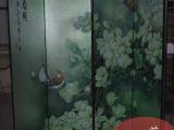 定制立体手绘玄关银箔隔断背景墙酒店家庭中