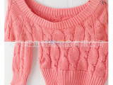 毛线全晴针织提花 粗针电脑提花针织布 毛线针织鞋材袜子面料