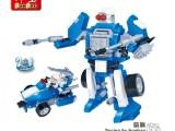 邦宝创意乐高式 拼装小颗粒积木益智儿童玩具百变机器人咕嘀6308