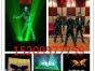 大同创意演出 激光舞 电光舞 墨舞 互动视频秀