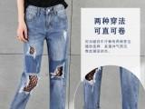 新款十万条库存外贸牛仔裤处理低价日韩女装弹力牛仔裤亏本清仓