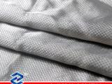 100%银纤维菱形格防辐射手套面料现货供应防辐射面料导电布料