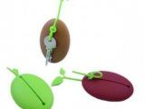 P020  咖啡豆钥匙包 硅胶卡包 可爱钥匙包 日常生活小饰品